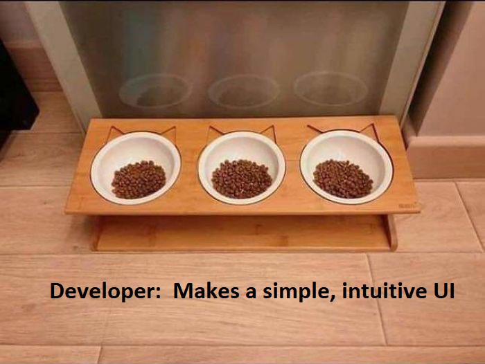 Developer's expectation
